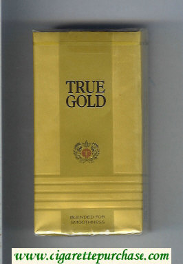 Discount True Gold 100s cigarettes soft box