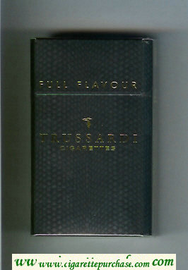 Trussardi Full Flavour 100s cigarettes black hard box
