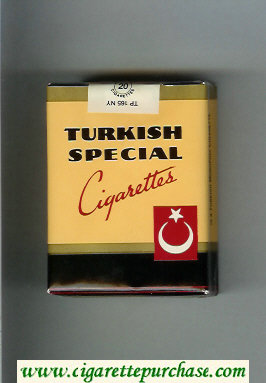 Turkish Special cigarettes soft box