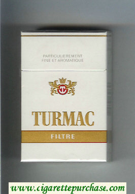 Discount Turmac Filtre cigarettes hard box