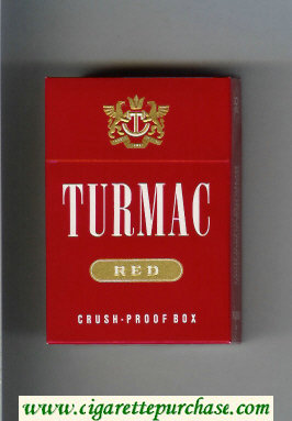 Discount Turmac Red cigarettes hard box