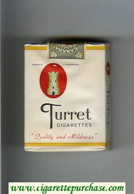 Turret cigarettes soft box