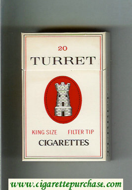Turret Filter Tip cigarettes hard box