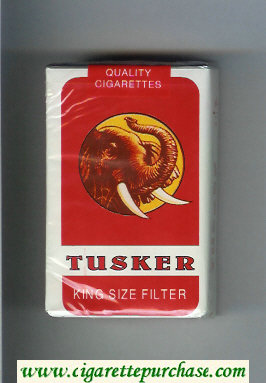 Discount Tusker cigarettes soft box