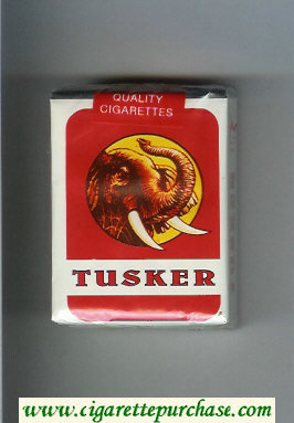 Discount Tusker soft box cigarettes