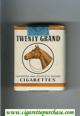 Discount Twenty Grand Imported and Domestic Blend cigarettes soft box