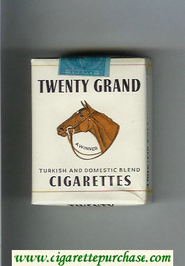 Discount Twenty A Winner Turkish and Domestic Blend cigarettes soft box