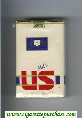 US American Blend Mild cigarettes soft box