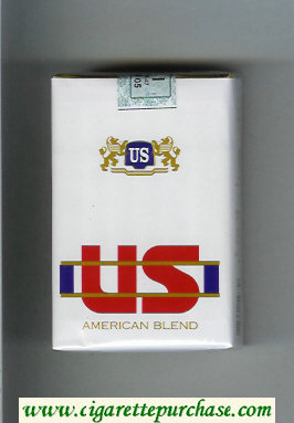 US American Blend cigarettes soft box