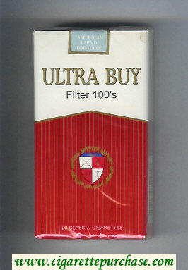 Ultra Buy Filter 100s cigarettes soft box