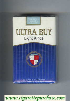Ultra Buy Light Kings cigarettes soft box
