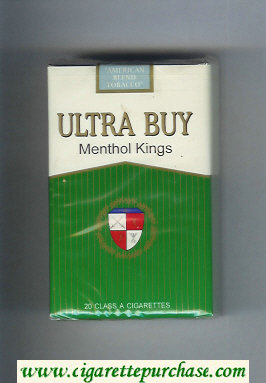 Ultra Buy Menthol Kings cigarettes soft box