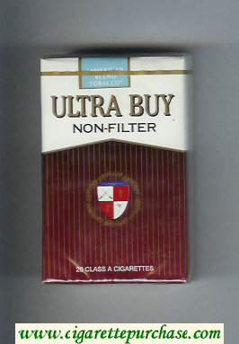 Ultra Buy Non-Filter cigarettes soft box