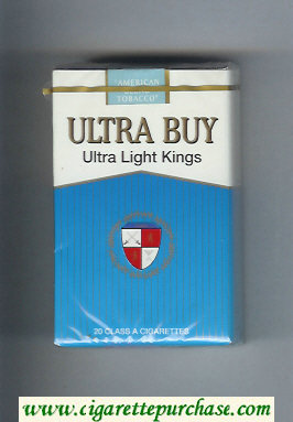 Ultra Buy Ultra Light Kings cigarettes soft box