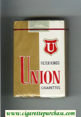 Union Filter Kings cigarettes soft box