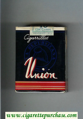 Union cigarettes black and red soft box