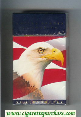 United States of America 100s cigarettes hard box