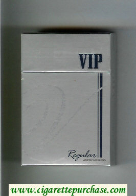 VIP Regular cigarettes hard box
