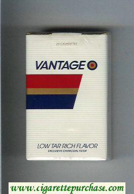 Discount Vantage Cigarettes soft box