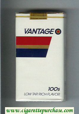 Discount Vantage 100s Cigarettes soft box