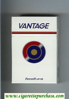 Vantage Fresh Flavor Cigarettes hard box