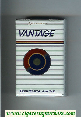 Vantage Fresh Flavor Cigarettes soft box