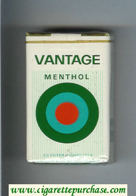Discount Vantage Menthol Cigarettes soft box