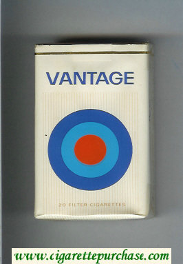 Vantage soft box Cigarettes