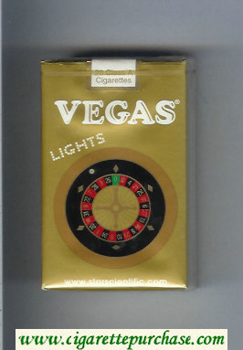 Vegas Lights Cigarettes soft box