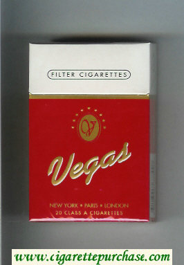 Vegas Cigarettes hard box