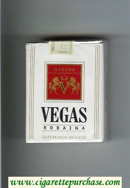 Vegas Robaina Cigarettes soft box