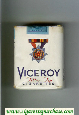 Discount Viceroy Filter Tip Cigarettes soft box