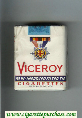 Discount Viceroy New-Improved Filter Tip Cigarettes soft box