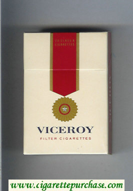 Discount Viceroy Filter Cigarettes hard box