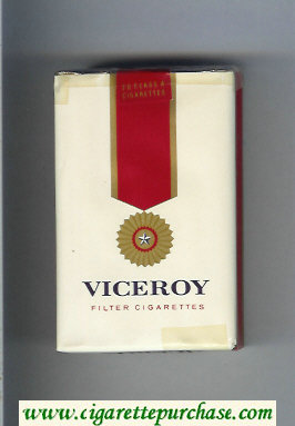 Viceroy Filter Cigarettes soft box