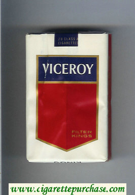 Viceroy Filters Kings Cigarettes soft box