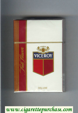 Discount Viceroy Full Flavor Deluxe Cigarettes hard box