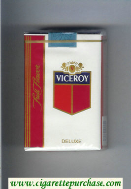 Discount Viceroy Full Flavor Deluxe Cigarettes soft box