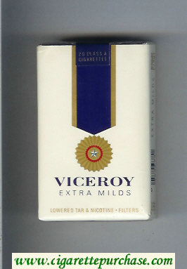 Viceroy Extra Milds Cigarettes soft box