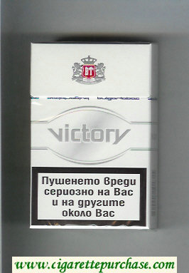 Victory cigarettes hard box