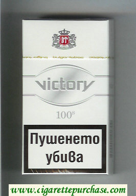 Victory 100s cigarettes hard box