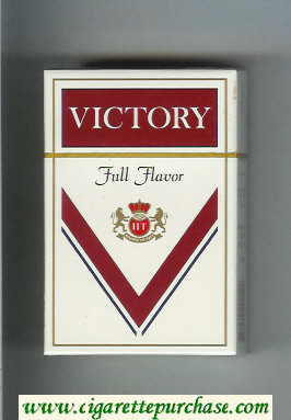 Victory Full Flavor cigarettes hard box