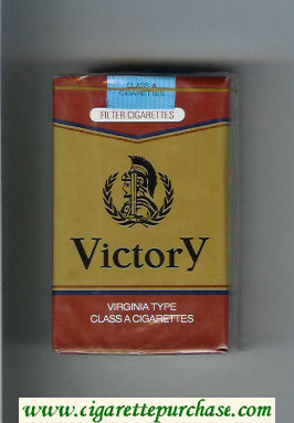 Victory Virginia Type cigarettes soft box