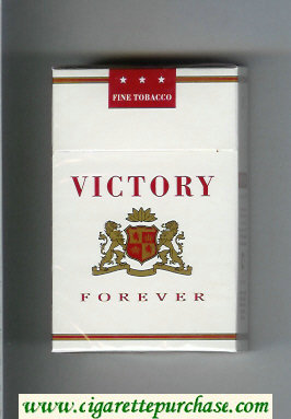 Victory Forever cigarettes hard box