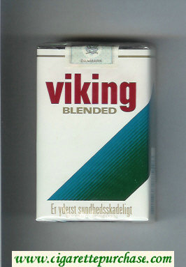 Viking Blended cigarettes soft box