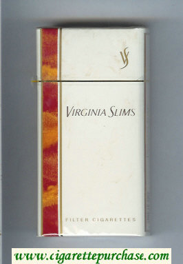 Discount Virginia Slims Filter 100s cigarettes hard box