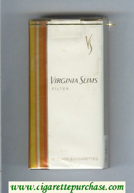 Virginia Slims Filter 100s cigarettes soft box