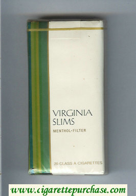 Discount Virginia Slims Menthol - Filter 100s cigarettes soft box
