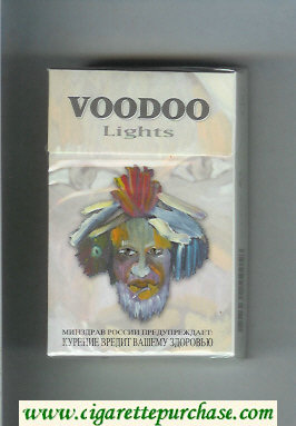 Voodoo Lights cigarettes hard box