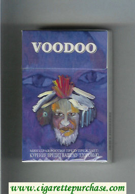 Voodoo cigarettes hard box